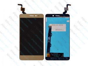 LCD with Touch Panel Lenovo K6 gold