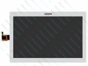 LCD with Touch Panel Lenovo Tab2 A10-30 white OCG