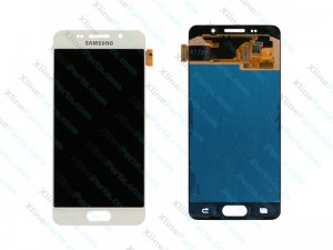 LCD with Touch Samsung Galaxy A3 (2016) A310 white (Original)