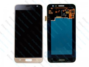 LCD with Touch Samsung Galaxy A3 (2017) A320F gold (Original)