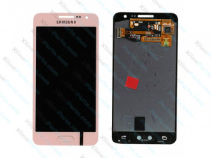 LCD with Touch Samsung Galaxy A3 A300 pink (Original)