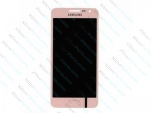 LCD with Touch Samsung Galaxy A3 (2017) A320F pink (Original)