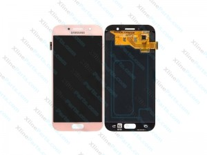 LCD with Touch Samsung Galaxy A5 (2017) A520 pink (Original)