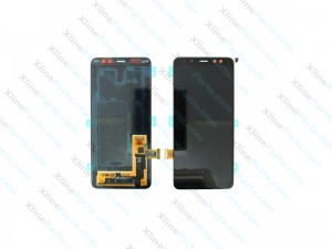 LCD with Touch Samsung Galaxy A8 (2018) A530 black (Original)