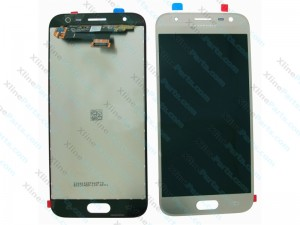 LCD with Touch Samsung Galaxy J3 (2017) J330 silver blue (Original)