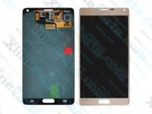 LCD with Touch Samsung Galaxy Note 4 N910 gold (Original)