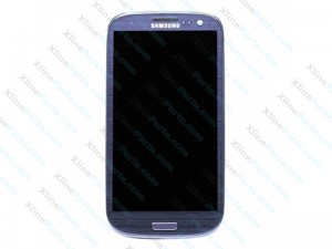 LCD with Touch and Frame Samsung Galaxy S3 I9300 Blue OCG