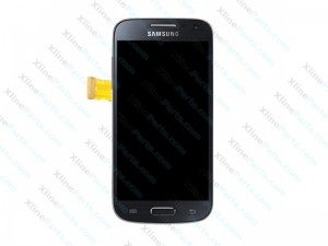 LCD with Touch and Frame Samsung Galaxy S4 Mini I9195 grey AAA