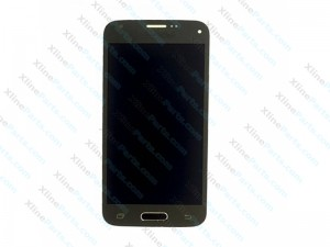 LCD with Touch Samsung Galaxy S5 Mini G800 gold (Original)