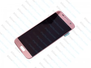 LCD with Touch Samsung Galaxy S7 G930 pink gold (Original)