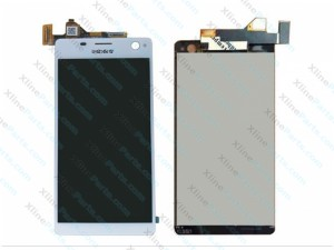 LCD with Touch Sony Xperia C4 E5303 white HQ
