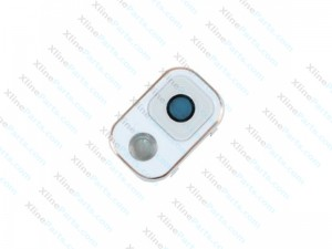 Camera Cover and Glass Lens Samsung Galaxy Note 3 N9005 white