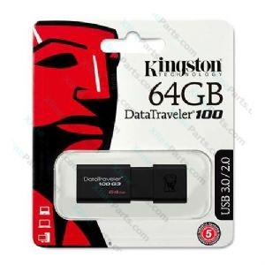 Kingston DataTraveler Pen Drive DT100 G3 USB 3.1 64GB black (Original)