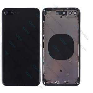 Back Battery and Middle Cover Apple iPhone 8 Plus black Complete