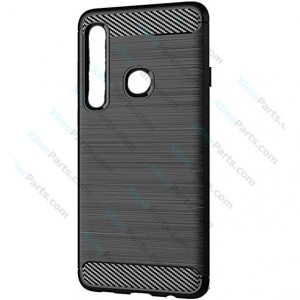 Silicone Case Carbon Samsung Galaxy A9 (2018) A920 black