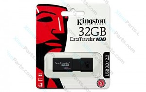 Kingston DataTraveler Pen Drive DT100 G3 USB 3.1 32GB black (Original)