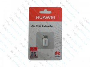 Micro Usb To Type C Huawei Adapter white (Original)