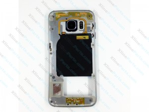 Middle Cover Samsung Galaxy S6 Edge G925 white