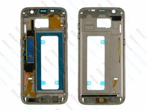 Middle Cover Samsung Galaxy S7 Edge black