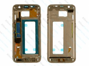 Middle Cover Samsung Galaxy S7 Edge gold
