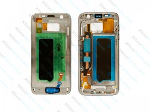 Middle Cover Samsung Galaxy S7 gold