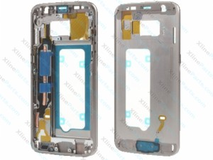 Middle Cover Samsung Galaxy S7 silver