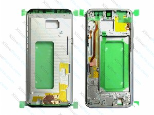 Middle Cover Samsung Galaxy S8 G950 silver (Original)