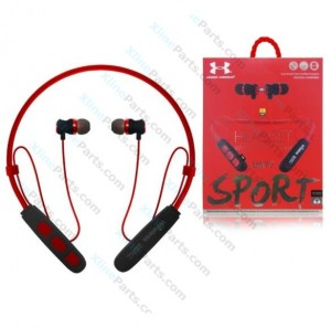 Bluetooth Headset UA77 red