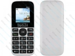 Mobile Phone Alcatel One Touch 10.16D DUAL white