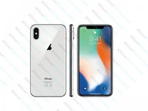 Mobile Phone Apple iPhone X 256GB silver