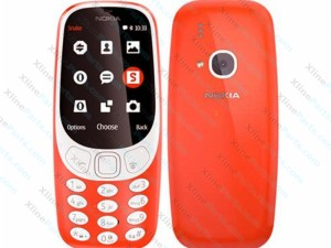 Mobile Phone Nokia 3310 Dual red (AR) 2017