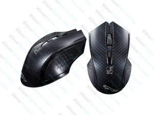 Mouse Wireless Silent Click black