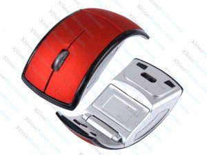 Mouse Wireless Snap-In Optical red