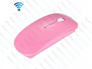 Mouse Wireless Ultra-Thin Optical 2.4GHz pink