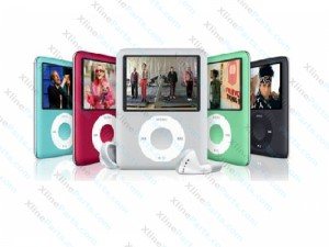 "Mp4 Player Slim 2"" with LCD 4GB"