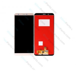 LCD with Touch Huawei Y7 Prime Y7 Pro (2018) gold OCG