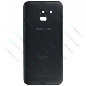 Back Battery Cover Samsung Galaxy J6 (2018) J600 black