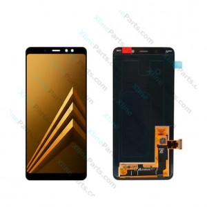 LCD with Touch Samsung Galaxy A8 Plus A730 black (Original)