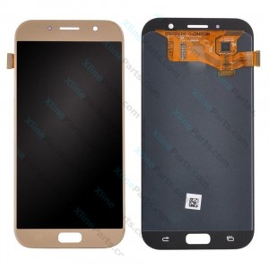 LCD with Touch Samsung Galaxy A7 (2017) A720 gold (Original)