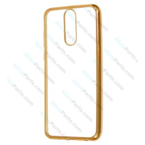 Silicone Case Electro Huawei Mate 10 Lite gold