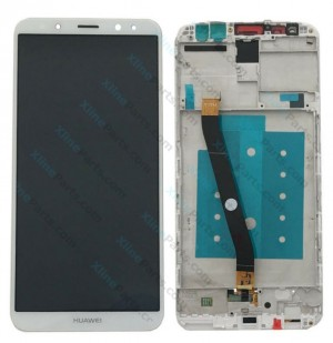 LCD with Touch and Frame Huawei Mate 10 Lite white OCG