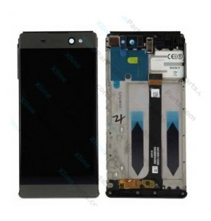 LCD with Touch and Frame Sony Xperia XA Ultra F3211 graphite black OCG