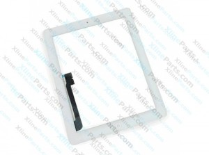 Touch Panel Apple iPad 3 Complete white (Original)