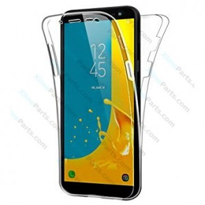 Silicone Case 360 Degree Samsung Galaxy J6 (2018) J600 Double Sided clear
