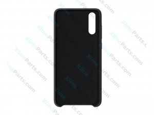 Silicone Case Huawei P20 black (Original)