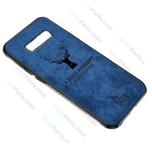 Silicone Case Deer Samsung Galaxy S10 Plus G975 blue