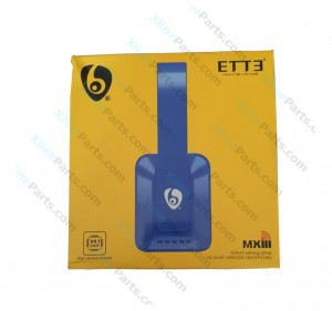 Bluetooth Headphone ETTE MXIII blue AAA