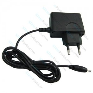 Travel Charger Universal Thin Pin 2 Pin Adapter black
