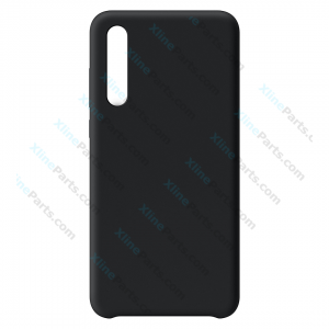 Silicone Car Case Huawei P20 Pro black (Original)