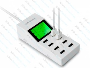 Power Adapter with 8 USB Port